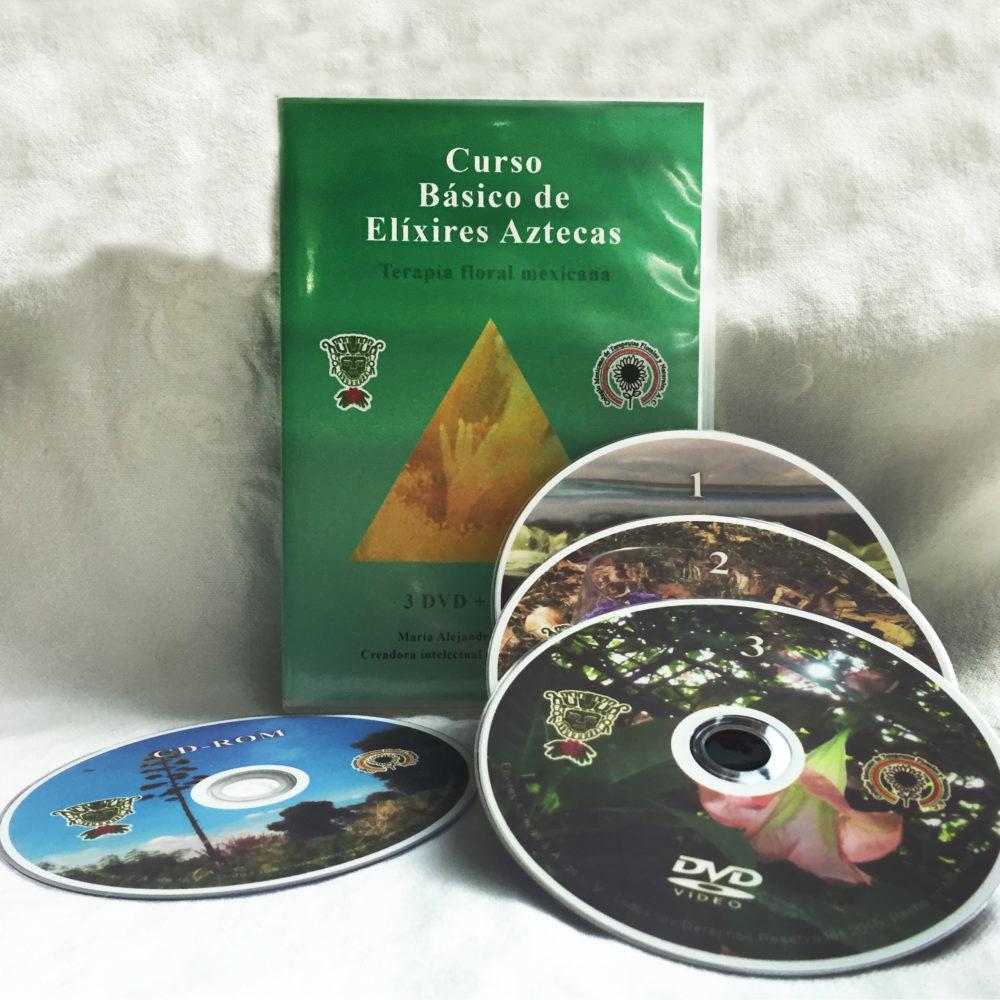 Curso en DVD de Elíxires Aztecas